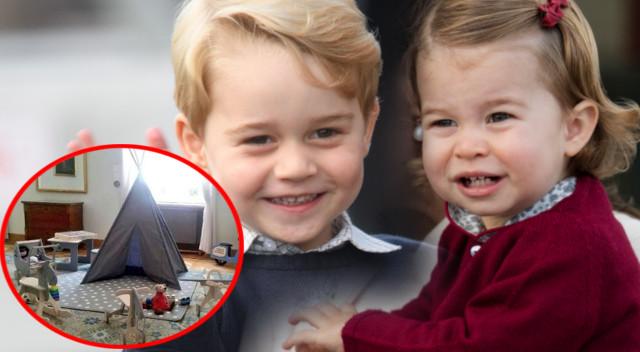 Zabawki i plac zabaw już czekają na księcia Jerzego i księżniczkę Charlotte