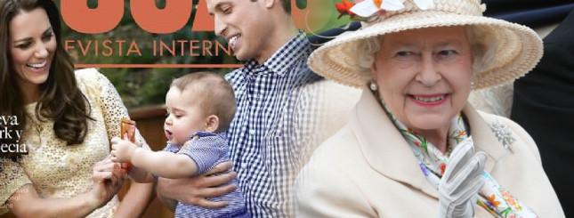 Książęta William i Jerzy odwiedzili w szpitalu Kate TWITTER