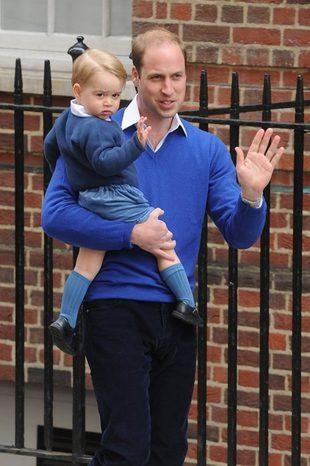 Zobaczcie księcia Jerzego w przedszkolu