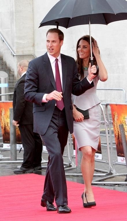 Księżna Catherine i jej mąż mają wychodne (FOTO)