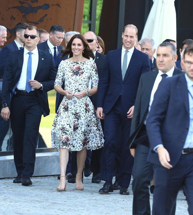 Skąd była sukienka księżnej Kate, w której przyleciała do Gdańska? (ZDJĘCIA)