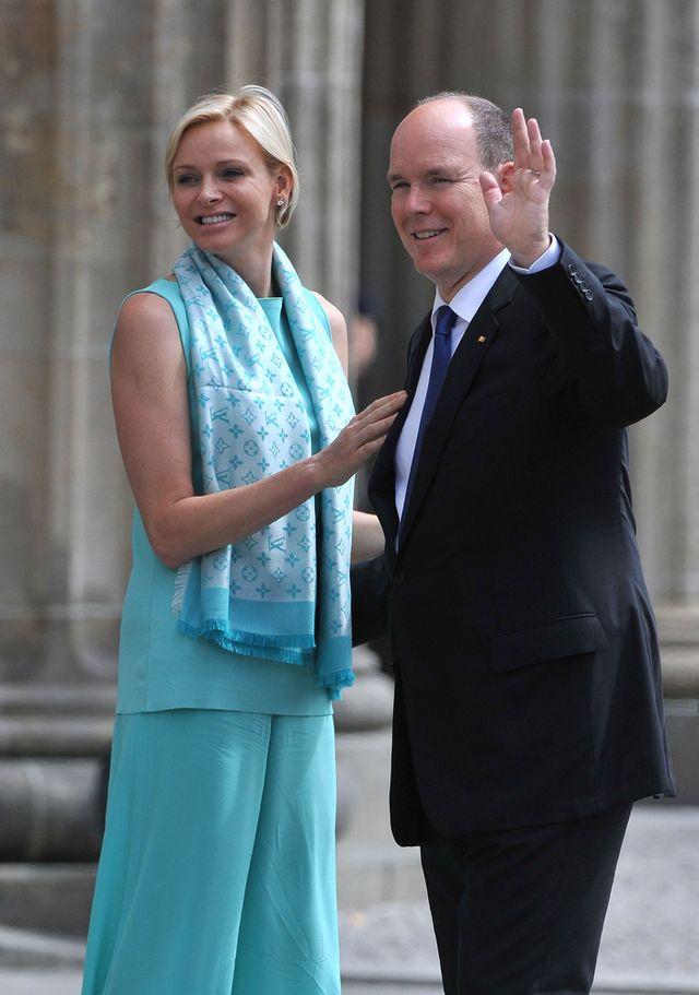 Księżna Monako, Charlene, urodziła!