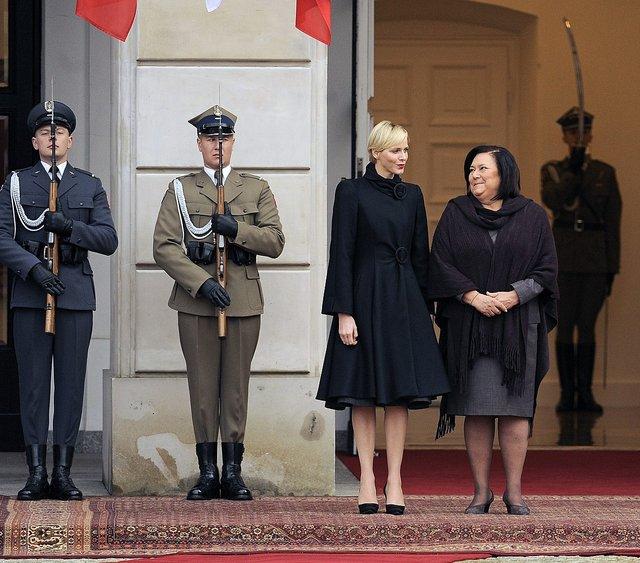 Księżna Monako Charlene w Polsce (FOTO)