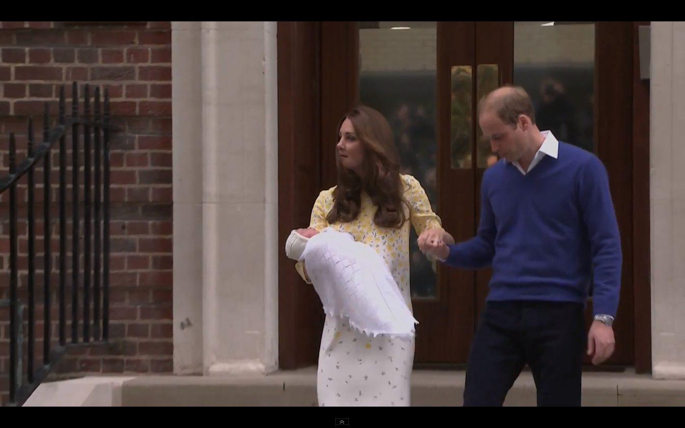 Charlotte Elizabeth Diana - oto imiona małej księżniczki