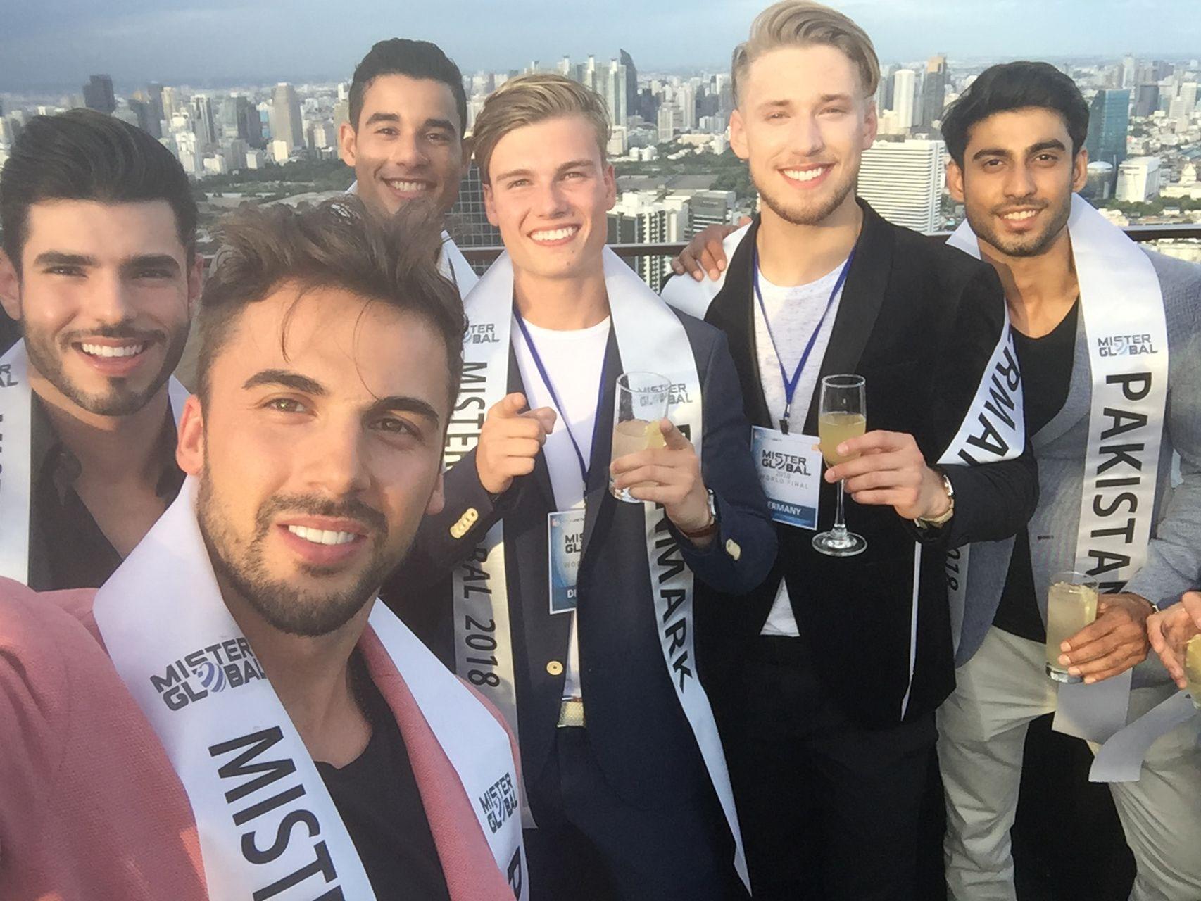 Jakub Kucner na zgrupowaniu przed Mister Global 2018 (ZDJĘCIA)