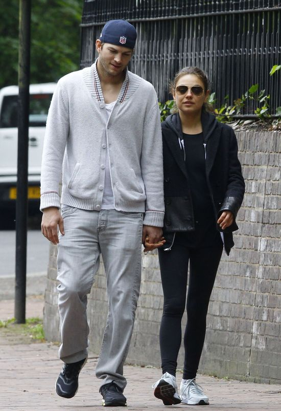 Mila Kunis i Ashton Kutcher NAPRAWDĘ już po ślubie (FOTO)