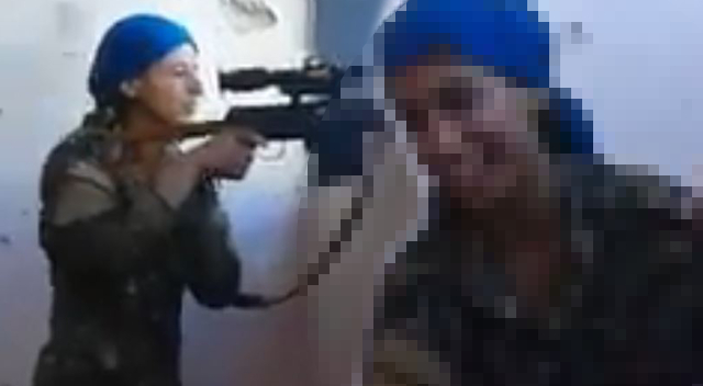 Kurdyjska snajperka o krok od ŚMIERCI. Jej reakcja mówi WSZYSTKO!