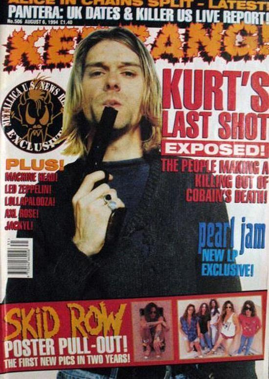 Fani Kurta Cobaina wci�� pytaj�, jak zgin�� ich idol