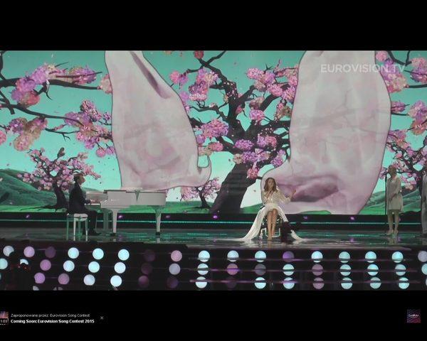 Monika Kuszyńska na Eurowizji - jest film z próby [VIDEO]