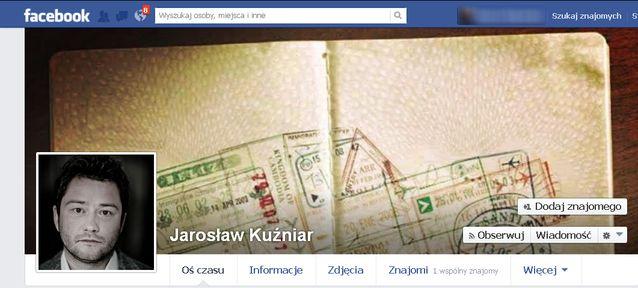 Jarosław Kuźniar upublicznia dane hejterów na Facebooku