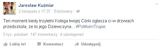 Mali chłopcy powinni zacząć się bać Jarosława Kuźniara?
