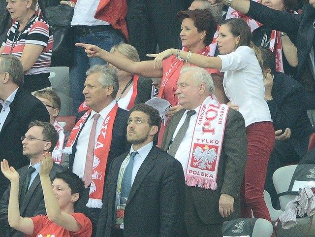 Mecz Polska-Rosja: co si� dzia�o na trybunach (FOTO)