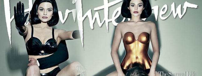 Kylie Jenner – plastikowa lala z gołą pupą w Interview