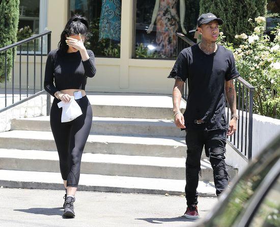 Kylie i Tyga pierwszy raz w miłosnym uścisku (FOTO)