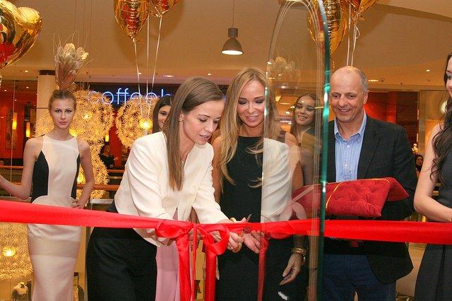 Anna Przybylska na otwarciu salonu LaMania (FOTO)