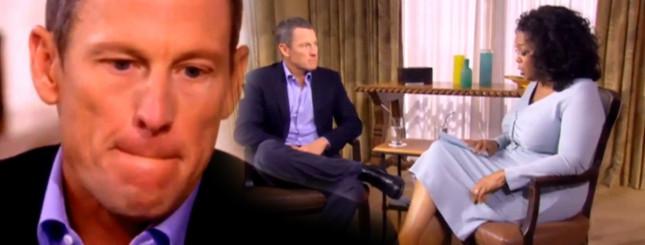 Lance Armstrong PRZYZNAŁ SIĘ do stosowania dopingu [VIDEO]
