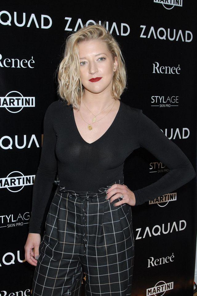 Lara Gessler pojawiła na otwarciu butiku Zaquad w nowej fryzurze (ZDJĘCIA)
