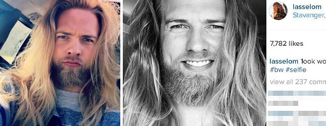 Lasse Matberg – norweski Wiking podbija internet (Instagram)