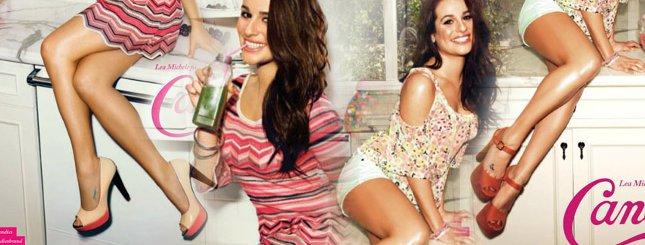 Lea Michele seksowna w reklamie Candie's (FOTO)