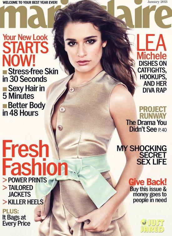 Lea Michele o swoich piersiach: Te maluchy są wspaniałe