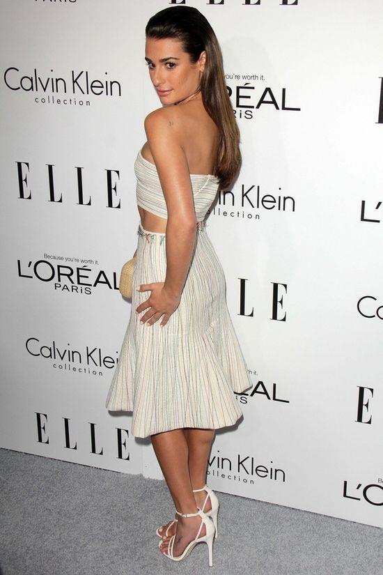 Lea Michele ponownie z grzywką (FOTO)