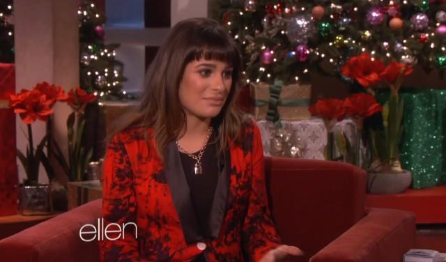 Lea Michele po raz pierwszy mówi publicznie o Corym Monteith