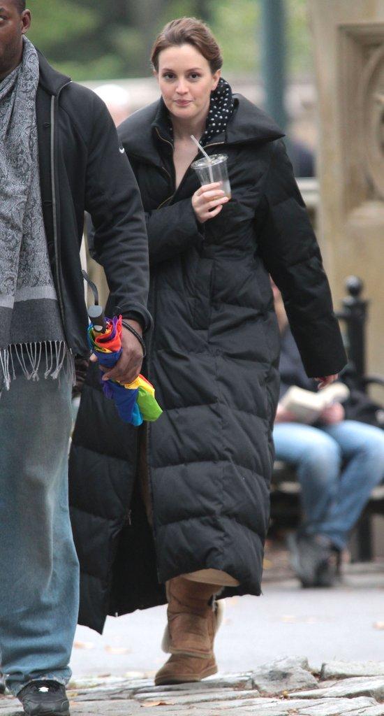 Leighton Meester: Widzę wypryski, podkrążone oczy... (FOTO)