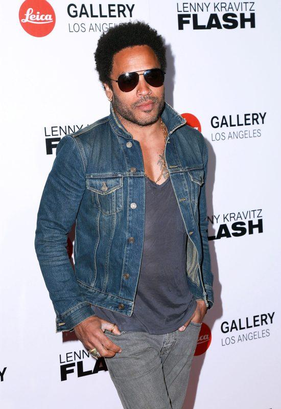 Lenny Kravitz pokazał penisa na koncercie