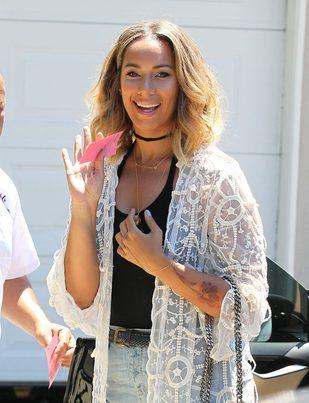 Leona Lewis żywą reklamą operacji plastycznych nosa (FOTO)