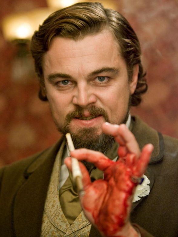 DiCaprio naprawdę krwawił na planie filmu Django Unchained