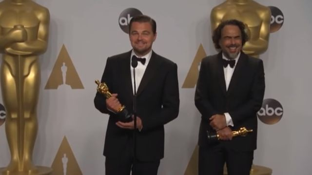 Leonardo DiCaprio nie mógł powstrzymać śmiechu