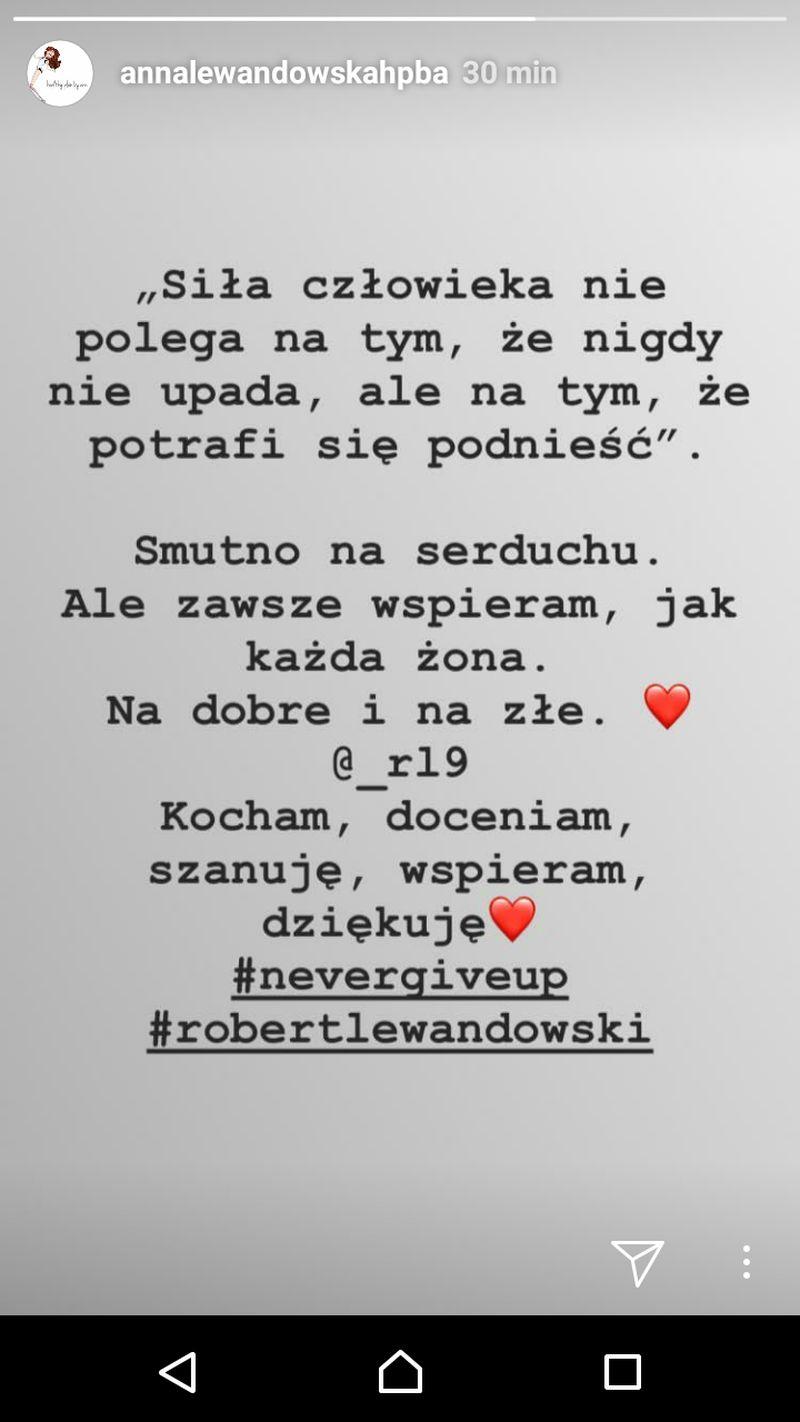 Anna Lewandowska przerywa MILCZENIE po meczu Polska-Kolumbia