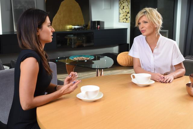 Magda Mo�ek zdradza, czym zach�ci�a Ann� Lewandowsk� do wizyty w studio