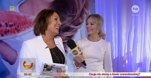 Mama i teściowa wspierają Annę Lewandowską (VIDEO)