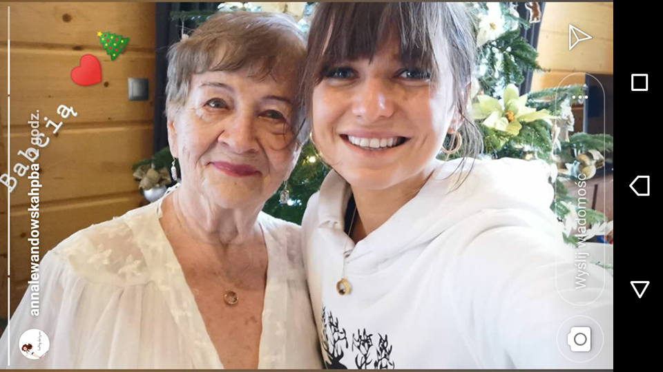 Anna Lewandowska pokazała świąteczne zdjęcie ze swoją babcią
