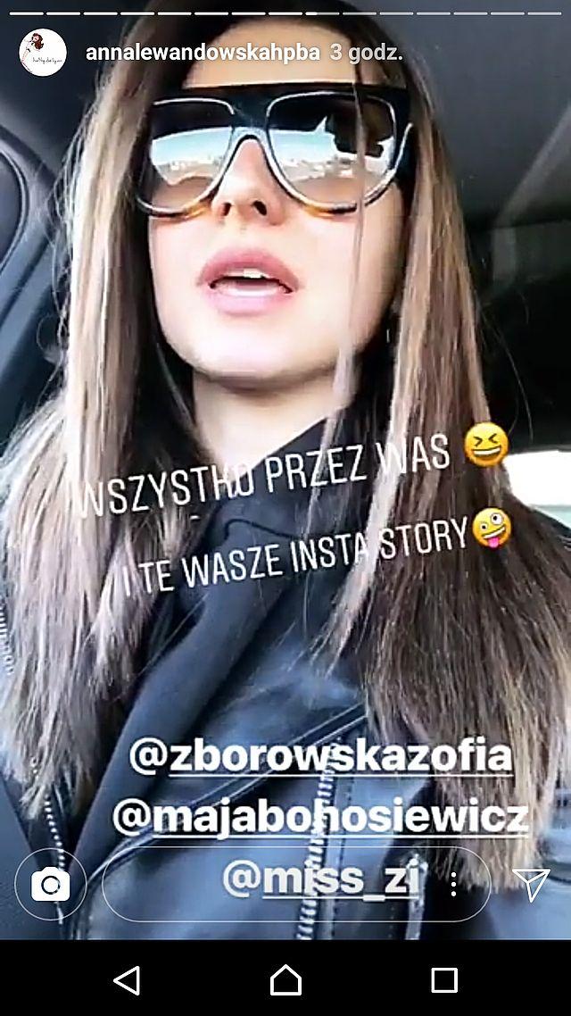 Anna Lewandowska KOMENTUJE plotki o tym, czy zostanie aktorką