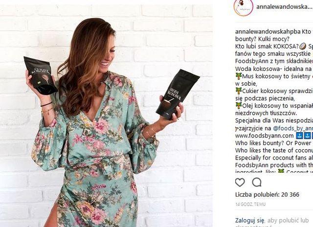 Anna Lewandowska w stylizacji, która będzie HITEM lata (Instagram)