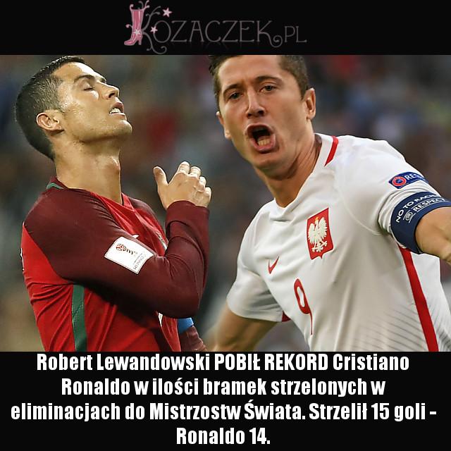 Robert Lewandowski w meczu z Armenią pobił DWA rekordy