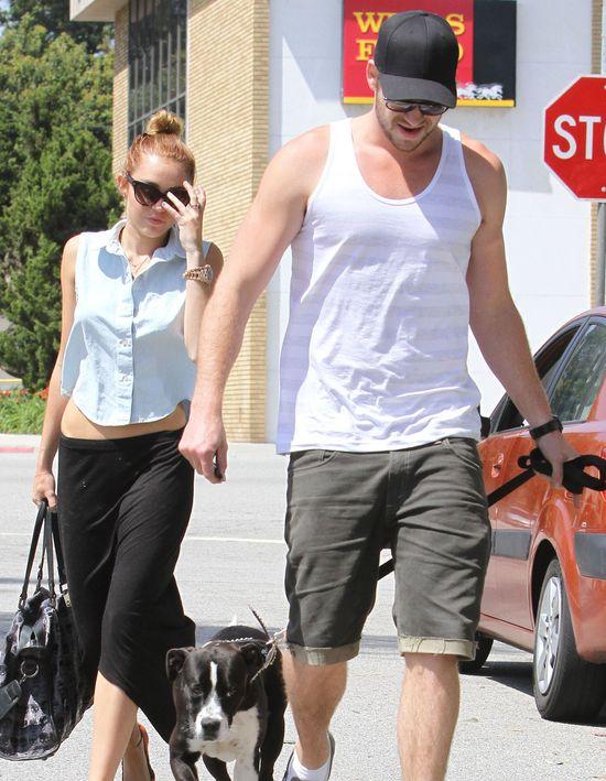 Miley Cyrus jest całkowicie zakochana w Liamie Hemsworthcie