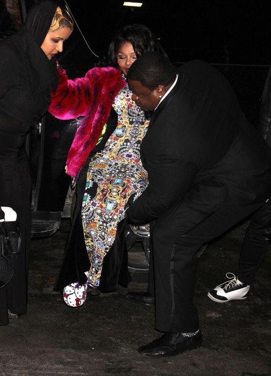 SZOK! Lil Kim jest w zaawansowanej ciąży! (FOTO)