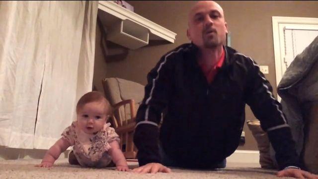 Oto Lilly Ann - sześciomiesięczna instruktorka fitnessuVIDEO