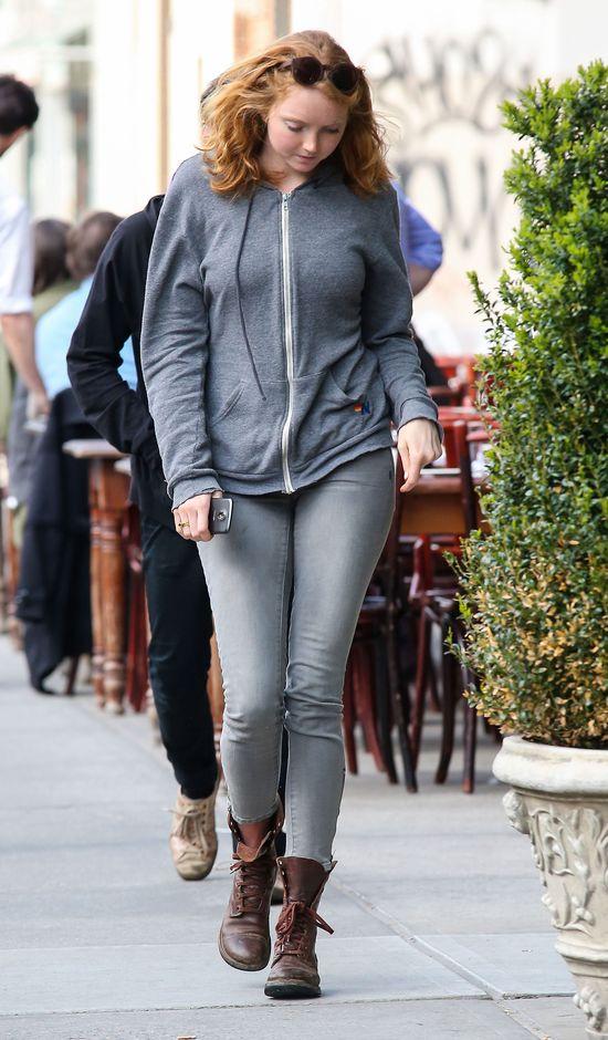 Lily Cole - modelka w Nowym Jorku