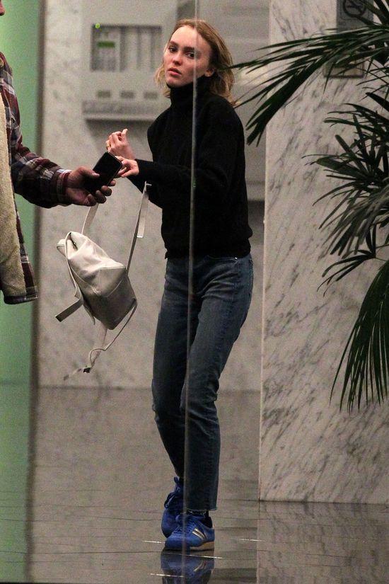 Lily Rose Depp rzeczywiście ma zadatki na modelkę? (FOTO)