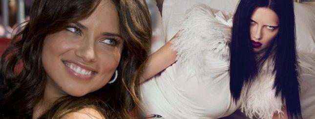 Upiorna Adriana Lima dla Givenchy (FOTO)