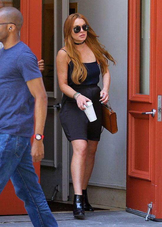 Lindsay Lohan znowu pije!