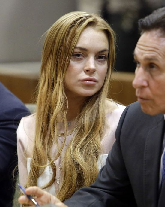Lindsay Lohan idzie na odwyk!