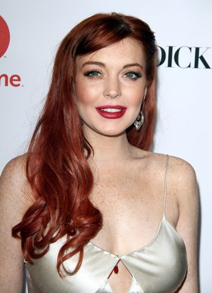 Lindsay Lohan w stylu gwiazd starego Hollywood (FOTO)