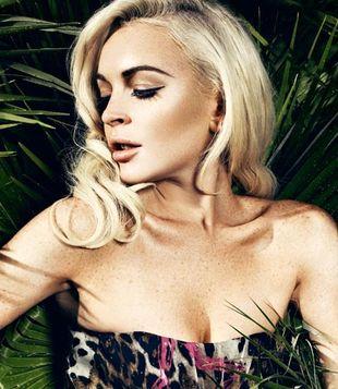 Kolejna zmysłowa sesja Lindsay Lohan (FOTO)