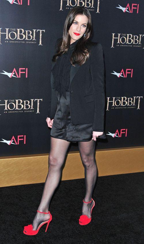 Liv Tyler wśród hobbitów