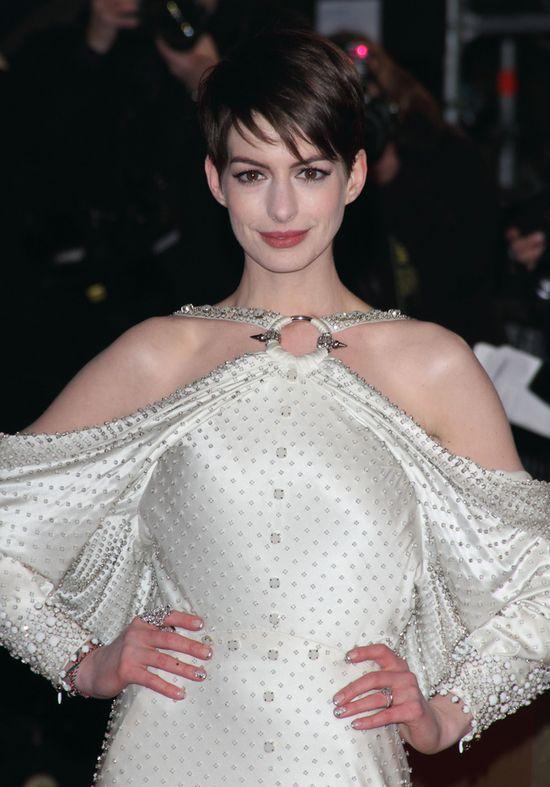 Premiera filmu N�dznicy - Anne Hathaway oczarowa�a!